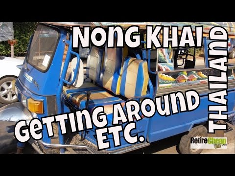 JC's Road Trip to Isaan, Nong Khai, Thailand Part 1