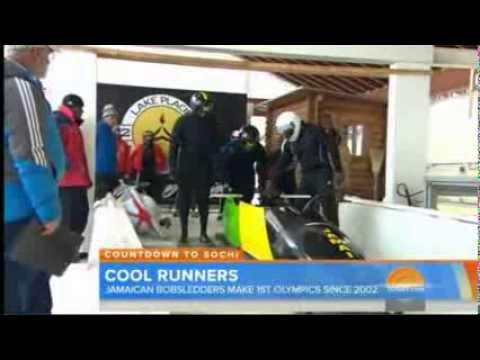 NCB New Clip on the Jamaican Bobsleigh Team