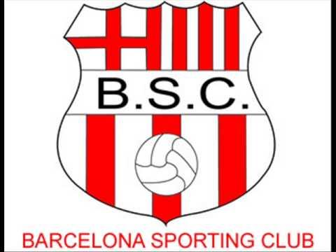 Amarillo como el sol. Canción de Barcelona Sporting Club