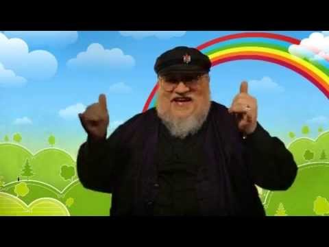 George R.R. Martin apologize for killing his characters.