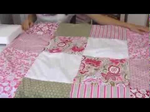n hen f r anf patchworking f r einsteiger wir n hen eine patchwork decke youtube. Black Bedroom Furniture Sets. Home Design Ideas