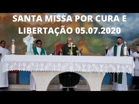 Santa Missa por Cura e Libertação | 05.07.2020 | Domingo | Padre José Sometti | ANSPAZ