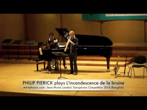 PHILIP PIERICK plays L'incandescence de la bruine by Bruno Mantovani