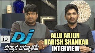 Allu Arjun & Harish Shankar interview about DJ Duvvada Jagannadham