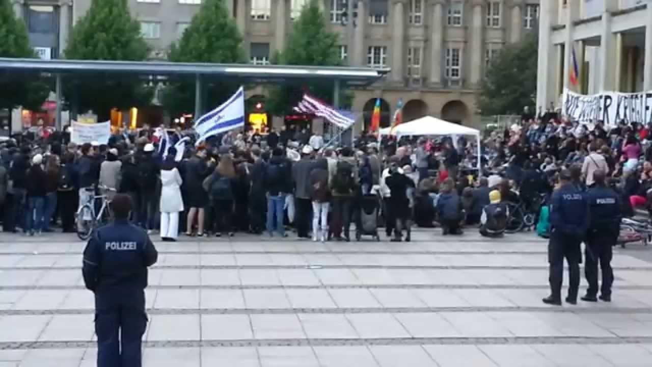 Friedensdemo in Leipzig am 12.05.2014