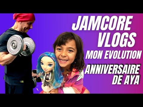 JamCore VLOGS : Anniversaire de Aya  Mon Evolution   Super Recette de Muffins