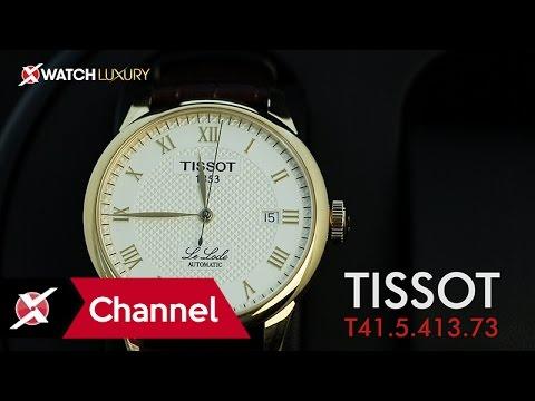 Trên tay đồng hồ Tissot T41.5.413.73: Vinh danh truyền thống - Xchannel