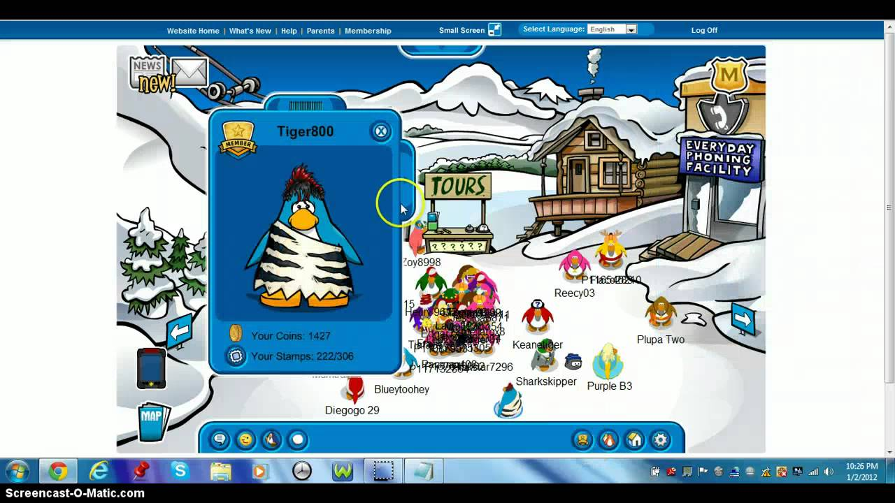 Free club penguin member account 2012 not banned youtube