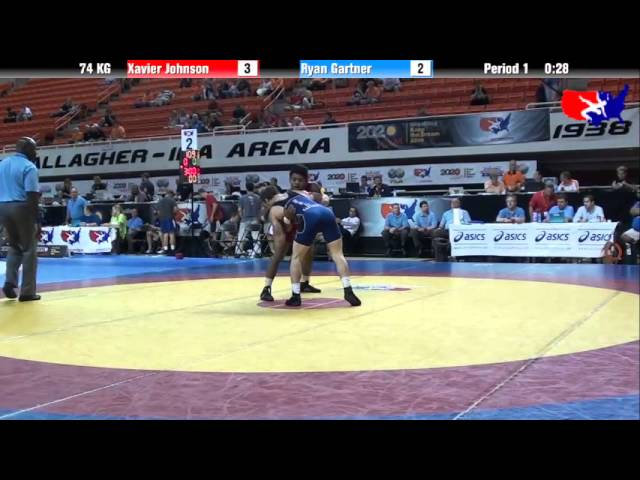 Xavier Johnson vs. Ryan Gartner