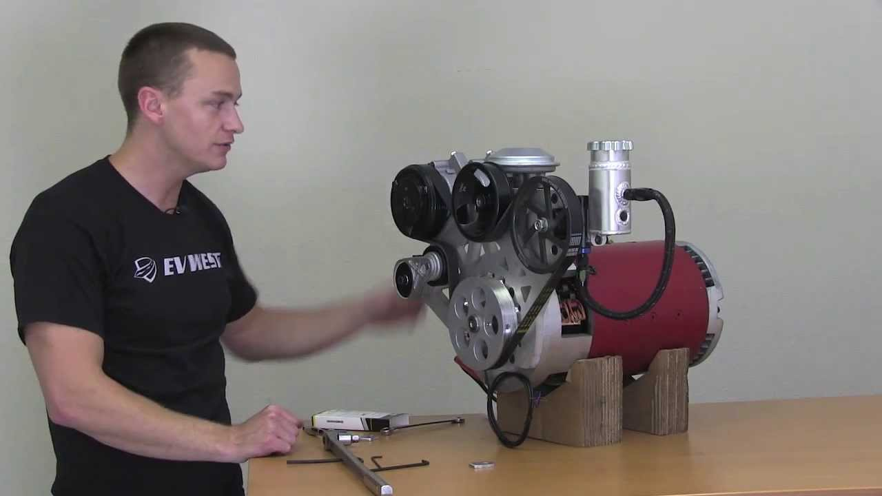 Ev West Electric Motor Accessory Plate Installation Video