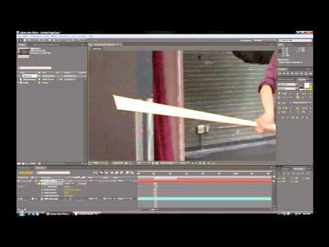 Creating Basic Lightsabers in Adobe After Effects Tutorial