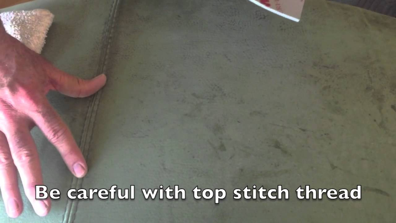 how to clean suede furniture stains