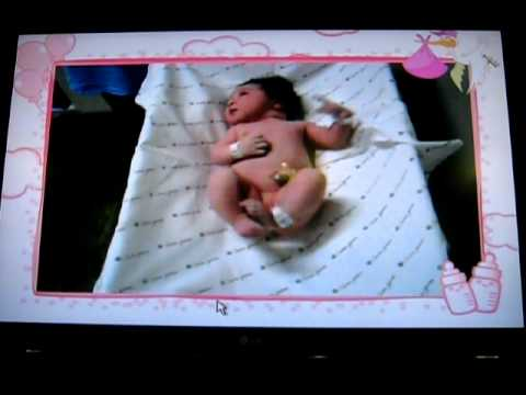 Nascimento da minha filha Anna julia 30/08/2011