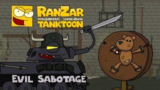 Tanktoons - Sabotáž