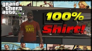 GTA 5 100% Completion T-Shirt Reward For Franklin! 100
