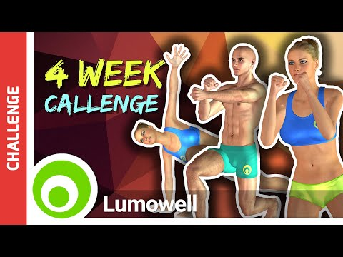 Challenge: 10 Weight Loss Exercises at Home to Get a Fit Body in 4 Weeks
