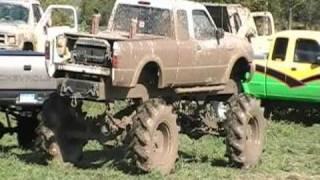 Monster 4X4 Ford Ranger BarnYard Bogger Mega Truck