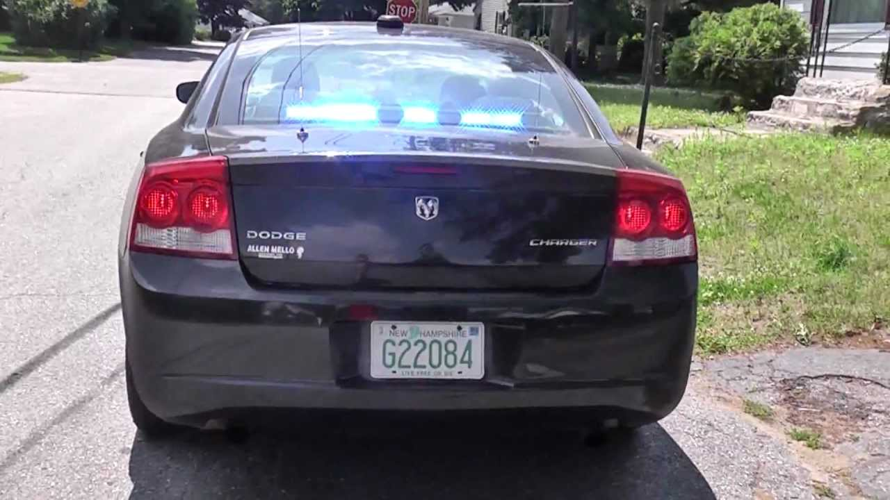 nashua nh police undercover dodge charger walk around w. Black Bedroom Furniture Sets. Home Design Ideas