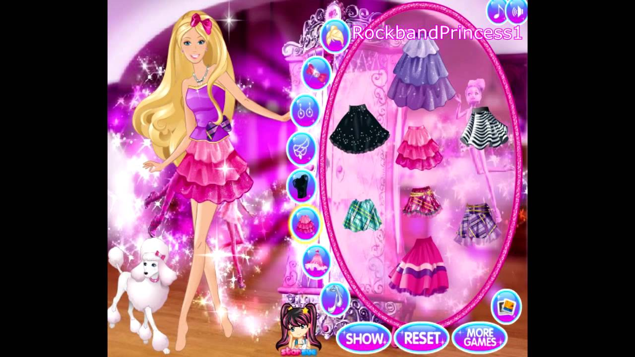 Play Barbie Games Online Now