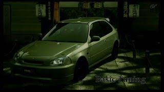Gran Turismo 5 Basic Tuning Civic Type R [HD]