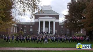 University Of Delaware UDANCE 90's FLASH MOB