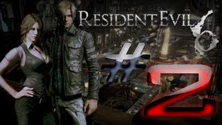 Resident Evil 6 Detonado (Walkthrough) Leon Parte 2 HD
