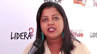 Participante afirma que curso incentiva a candidatura feminina