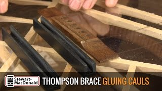 Watch the Trade Secrets Video, TJ Thompson Brace Gluing Caul Video