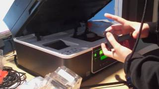 Unboxing Dell V515w (4-in-One) Inkjet Printer