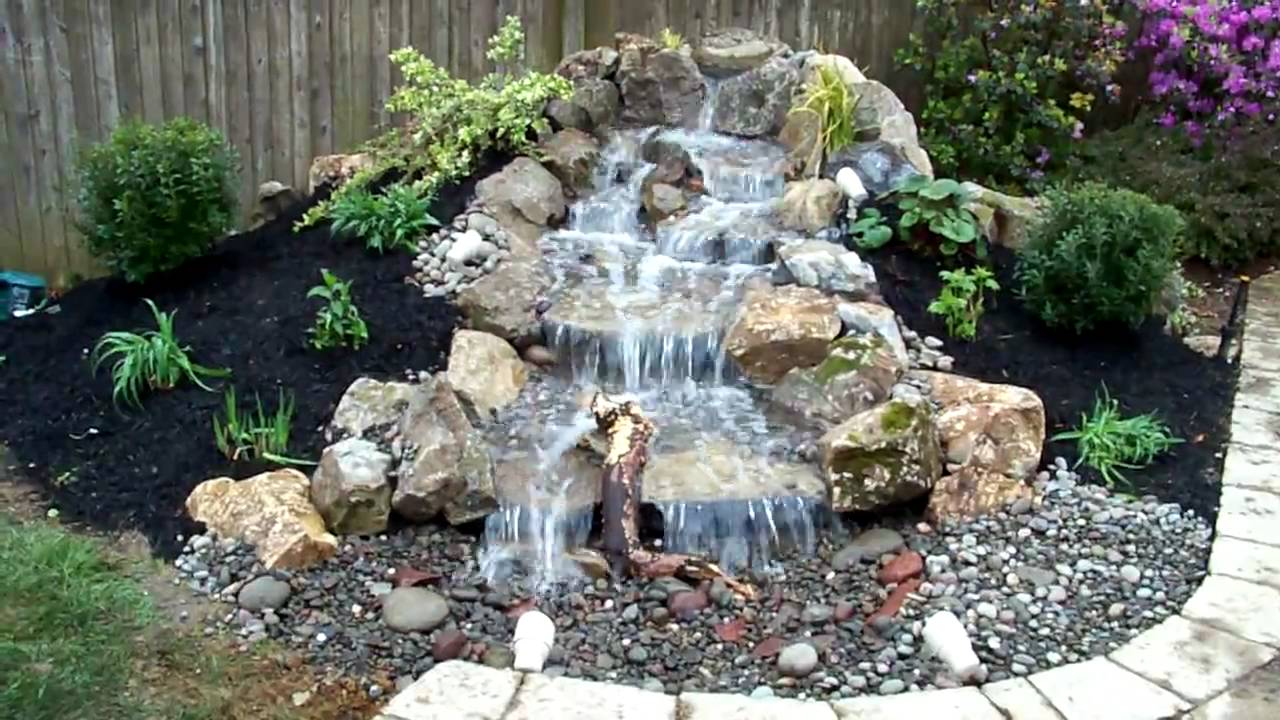 Pondless Water Feature Kings Park Ny Youtube