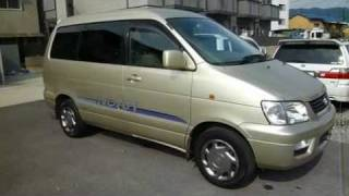 2001 Toyota Liteace Noah used car for sale Japan. Stock car information | TODOROKI TRADING