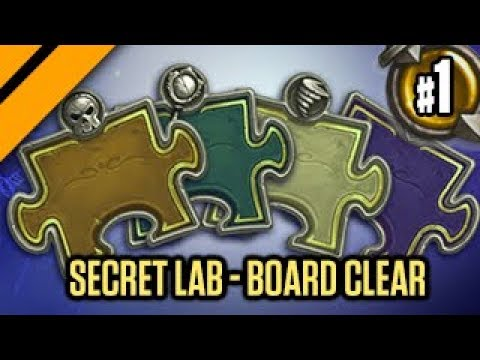 Hearthstone: The Boomsday Puzzle Lab - Board Clear Puzzles