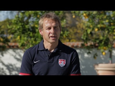 Jurgen Klinsmann Previews 2014 January Camp