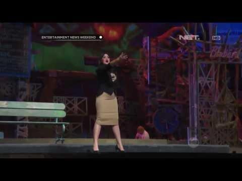 Persiapan Cornelia Agatha untuk pentas di Teater Koma