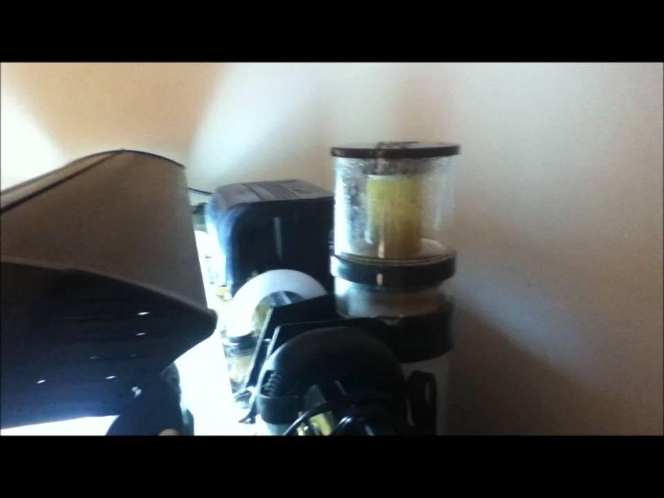 Instant Ocean Protein Skimmer : Seaclone protien skimmer youtube