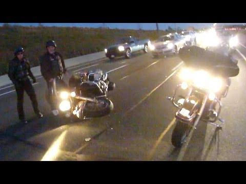 Harley Davidson Crash On 404 North   7 15pm Oct 10th