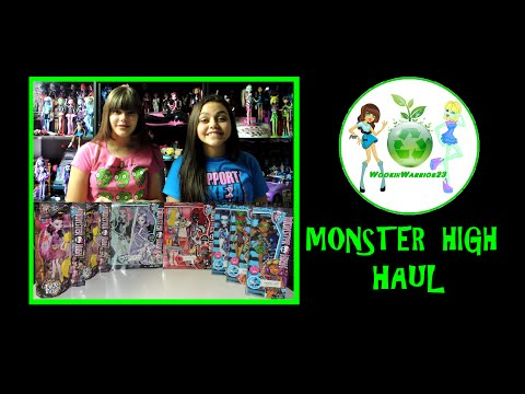 MONSTER HIGH HAUL - I LOVE FASHION, SWIM CLASS, GHOUL CHAT,FREAKY FUSION SAVE FRANKIE