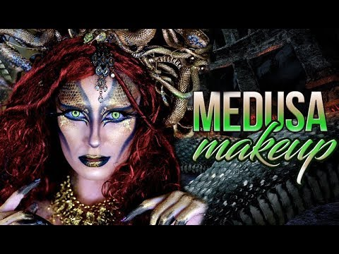 The Real Medusa | Snake Head Halloween Makeup Tutorial 2017 | Victoria Lyn Beauty