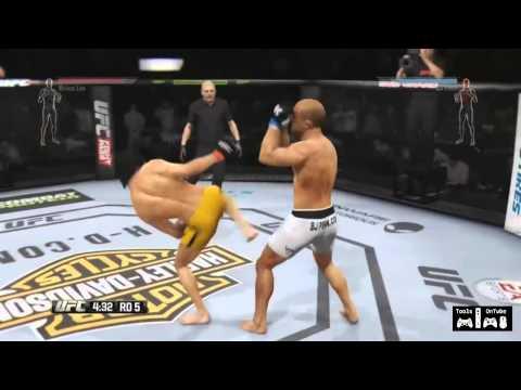 Bruce Lee vs BJ Penn UFC Live Gameplay