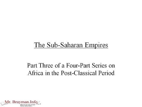 The SubSaharan Empires