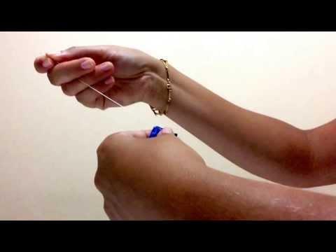 Laço flor de fita de cetim para tiaras e faixas