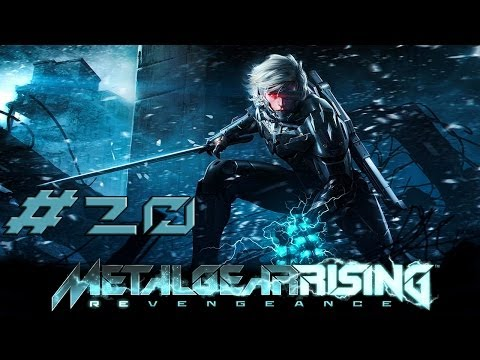 [HD] Metal Gear Rising Revengeance Part 20 - Boss Battle Monsoon (no commentary)