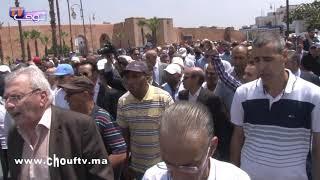 جنازة المناضل عبد الكريم غلاب تجمع المتخاصمين سياسيا وهذه تفاصيلها المؤثرة |