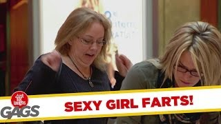SEXY GIRL FART PRANK - LOL !