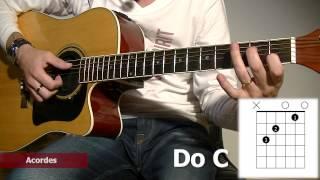 Como Tocar Los Acordes Del Himno De La Alegría: Tutorial Para Guitarra Acústica TCDG