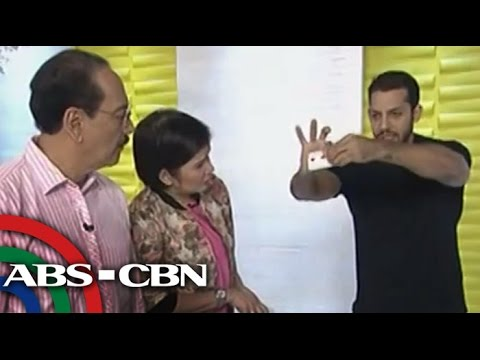 David Blaine wows UKG hosts