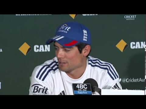 Ashes 2013-14: We won't be intimidated at the Gabba promises Alastair Cook