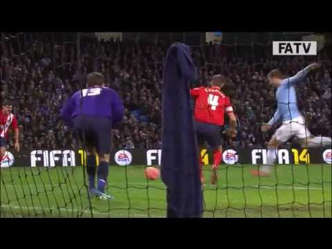 Manchester City vs Blackburn Rovers, FA Cup Third Round Replay 2013-14 highlights
