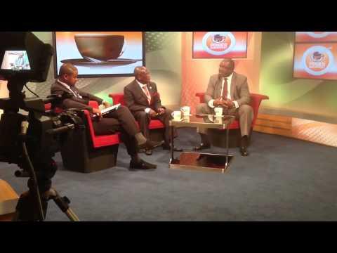 Ambassador Akin Oyateru on Power Breakfast at Citizen TV Kenya