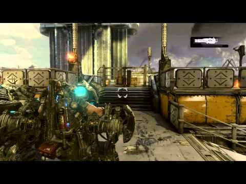 Gears of War 3: Walkthrough - Part 4 [Act 1-2: Leviathan Boss] (GoW3 Gameplay & Commentary)